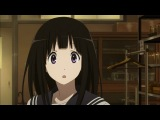 Hyouka: You can't escape \ Хоу-ка: Тебе не уйти - 19 серия [Ancord & Shina]