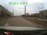 Авария в Иваново 21-04-2012 ул. Любимова